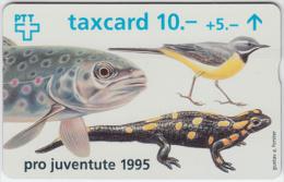 SWITZERLAND A-787 Hologram PTT Private - Animal, Bird, Fish, Lizard - 508A - used