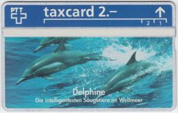 SWITZERLAND A-790 Hologram PTT Private - Animal, Sea life, Dolphin - 344L - MINT