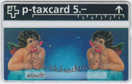 SWITZERLAND A-798 Hologram PTT Private - Occasion, Christmas - 310L - MINT