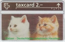 SWITZERLAND A-802 Hologram PTT Private - Animal, Cat - 344L - MINT