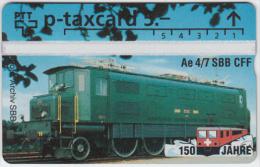SWITZERLAND A-803 Hologram PTT Private - Traffic, Historic train - 507L - MINT