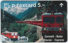 SWITZERLAND A-804 Hologram PTT Private - Traffic, Train - 510L - MINT