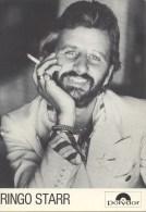 Carte Aotographe Ringo Starr - Autres Collections