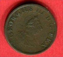 IRLANDE 1/2 PENNY 1805 (KM147) TB+10 - Irlande