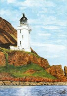 Postcard - Holy Island Outer Lighthouse, Firth Of Clyde. C44 - Lighthouses