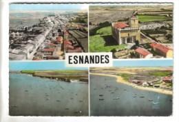 CPSM ESNANDES (Charente Maritime) - En Avion Au-dessus De......4 Vues - France