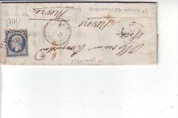 GIRONDE - Type 22 De ST JULIEN  BEYCHEVILLE  -  PC N° 3131 / N° 14 - 1849-1876: Periodo Classico