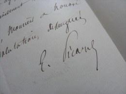 Ernest PICARD (1821-1877) Député SEINE  - Membre GOUVERNEMENT DEFENSE NATIONALE (1870) - Autographe - Autografi