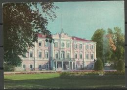 Estland Estonia 1971 Ansichtskarte Tallinn Reval Schloss Palace Katharinenhof Kadriorg Prestamped 3 Kop 1966 - Estland