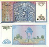 UZBEKISTAN 5 SUM 1994 FDS UNC EX URSS CCCP - Uzbekistán