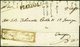 #27732 - LOMBARDO VENETO - Da PIAZZOLA, Per Venezia, Del 27/2/1836.# - 1. ...-1850 Prefilatelia