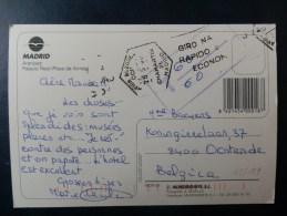 45/187     CP POUR LA BELG.   TAXE - 1991-00 Cartas
