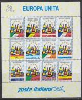 Italy 1993 United Europe / Europa Unita M/s ** Mnh (F1898) - Europese Gedachte