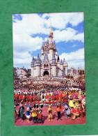 Welcome To Walt Disney World Cinderella Castle Mickey Donald Pluto Goofy Winnie Orlando Florida - Orlando