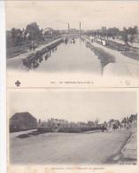 Sancoins - 2 Cartes : Canal Du Berry & Promenade Des Allumettes - Sancoins