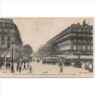FRATP0842C-LFTD4204TTSCTa Rjeta Postal DE FRANCIA.Boulevard De Capucines,PARIS - Postales