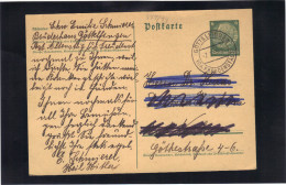 Allemagne , Entier Carte Postale .1935 Oblitérée Göttelfingen. - Duitsland