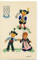 29 - Costumes De Bretagne -  Illustrateur ADDIN - Sin Clasificación