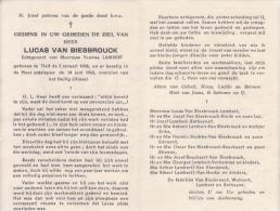Lucas Van Biesbrouck (1908-1963) - Imágenes Religiosas