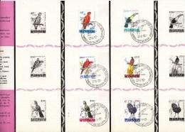 BELGIË - OBP - 1962 - Nr 1216/21 - Poststempels/ Marcofilie