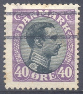 Denemarken 1919-20 - Yvert 111 - Christian X - Gestempeld - 1913-47 (Christian X)