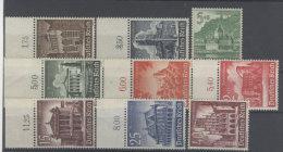 Deutsches Reich Michel No. 751 - 759 ** postfrisch