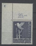 Gemeinschaftsausgaben Michel No. 962 ** postfrisch Eckrand Plattennummer