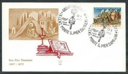 1972 ITALIA FDC ALA PIER DAMIANI NO TIMBRO ARRIVO - EDG14 - 6. 1946-.. Republic