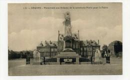 CP , 62 , ARQUES , Monument Aux Enfants - Arques