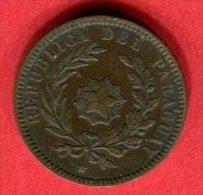 2 CENT 1870 (KM 3)  TTB 15 - Paraguay