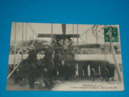 95)ecouen - L'aviateur CHAMPEL Et Son Appareil ( Féte Du 12 Mai 1912 ) - Année1912 - EDIT - Pauly - Ecouen