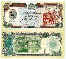 Afghanistan Billet 500 Afghanis P60 CHEVAUX UNC Neuf - Autres - Asie