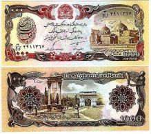 Afghanistan Billet 1000 Afghanis 91 P61 PIGEON UNC Neuf - Autres - Asie