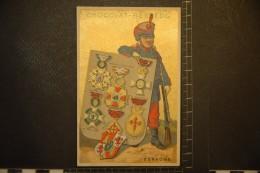 Chromo, Image, Publicité, Chocolat BESSEDE Decorations Medailles Ordre Militaires ESPAGNE - Chocolat