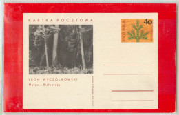 POLSKA  -  Cartolina Intero Postale -   LEON  WYCZOLKOWSKI - Vegetazione