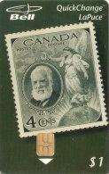 TARJETA DE CANADA CON UN SELLO DE GRAHAM BELL (CAPEX) (SELLO-STAMP) NUEVA-MINT - Sellos & Monedas
