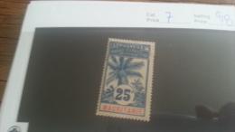 LOT 223323 TIMBRE DE COLONIE MAURITANIE NEUF* N�7 VALEUR 28 EUROS