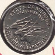 CAMEROUN 50 FRANCS 1960 UNC ANIMAL - Cameroun