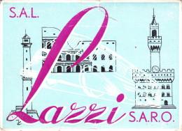 TESSERA - LIBERA CIRCOLAZIONE SUL PERCORSO GRUPPO TOSCANO LAZZI   - 1959 - Documents Historiques