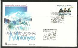 ANDORRA- SOBRE DE PRIMER DIA  EDIFIL Nº  294 - Nuevos
