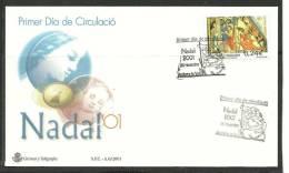 ANDORRA- SOBRE DE PRIMER DIA  EDIDFIL Nº 289 - Nuevos