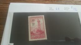 LOT 223369 TIMBRE DE ANDORRE NEUF* N�46 VALEUR 22 EUROS