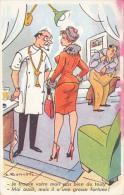 Bonnotte - Je Trouve Votre Mari Pas Bien Du Tout - Moi Aussi, Mais Il A Une Grosse Fortune (couple, Humour, Médecin) - Bonnotte
