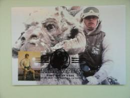 CARTE MAXIMUM MAXIMUM CARD STAR WARS SANDTROOPER AND PROBE DROID ETATS UNIS - Cinema