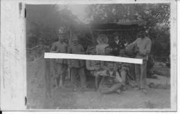 Les éparges Groupe De Soldats Allemands Déguisés 1 Carte Photo 1914-1918 14-18 Ww1wwI Wk - War, Military