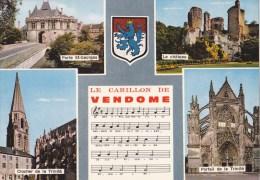 CPM Le Carillon De Vendôme Chanson - Multivues - Blason - Vendome