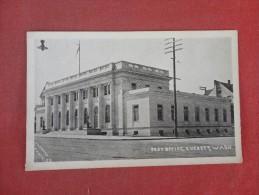 - Washington Everett  Post Office    Ref 1506 - Estados Unidos