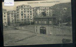 GENOVA SAMPIERDARENA  PAALESTRA  GINNASTICA  BARABINO    VIAGGIATA  1913 - Genova