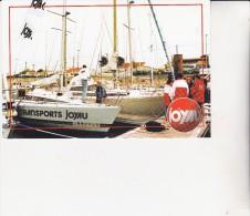 CARTE EDITEE PAR LES TPTS JOYAU 1998 A L'OCCASION DU VENDEE GLOBE -AGENCE DE SAINTES-TIRAGE 500 EXEMPLAIRES - Autres Collections