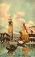 VENEZIA LA PIAZETTA VUE DE LA LAGUNE - Venezia